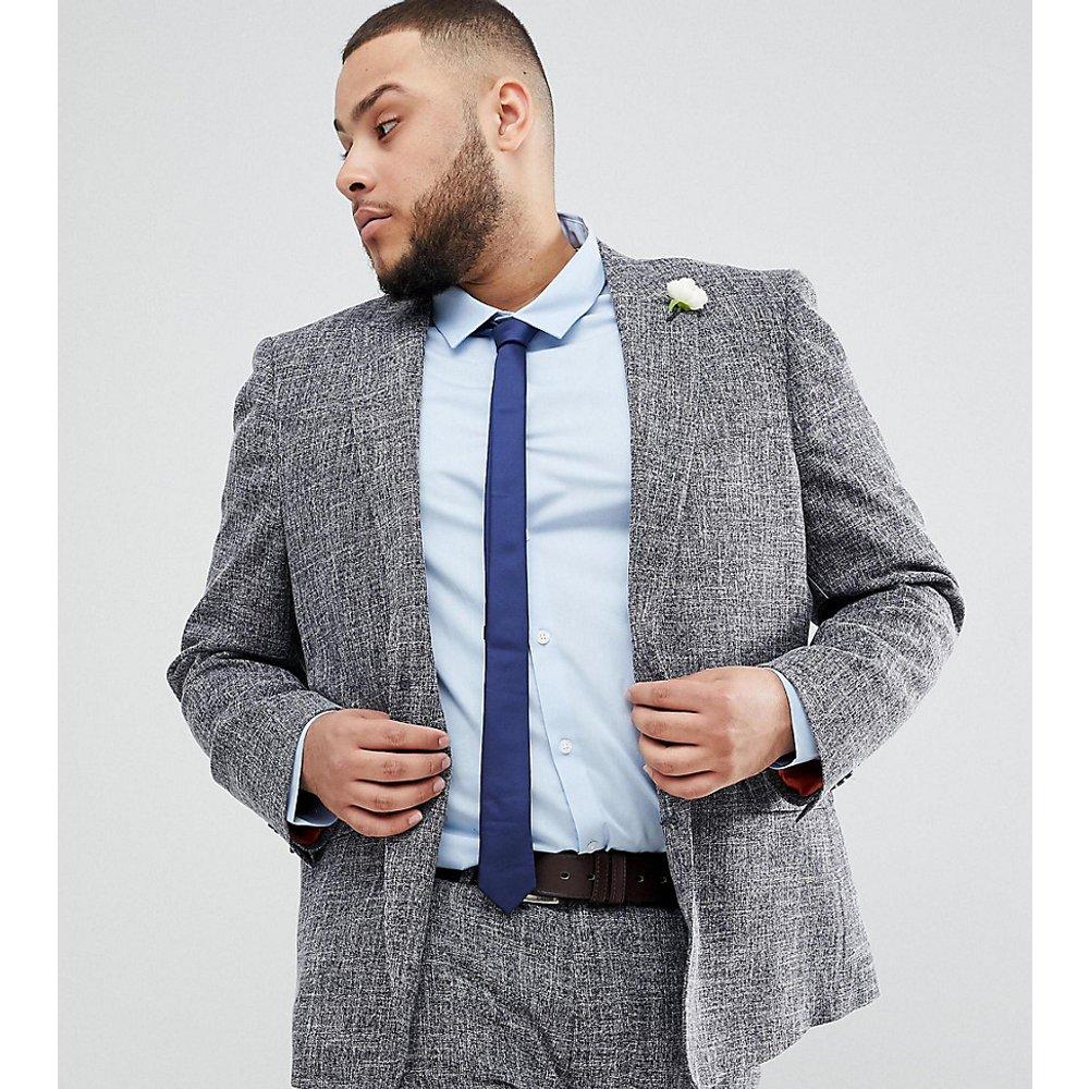 PLUS - Veste de costume slim effet moucheté - Gianni Feraud - Modalova