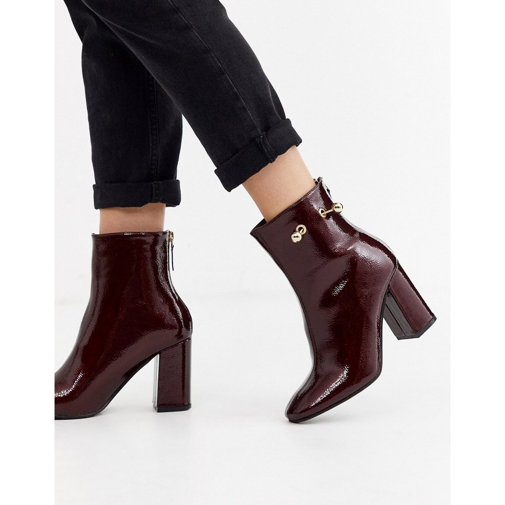 Bottines vernies avec piercing - Glamorous - Modalova