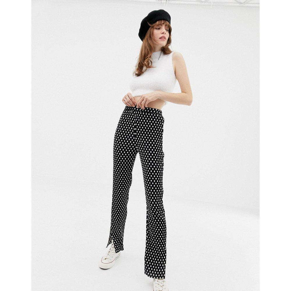 Pantalon plissé à mini pois - Glamorous - Modalova