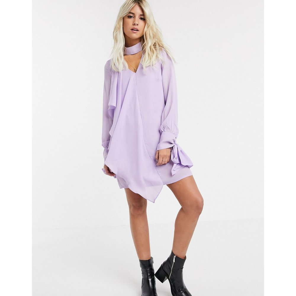 Glamorous - Robe - Lilas-Violet - Glamorous - Modalova
