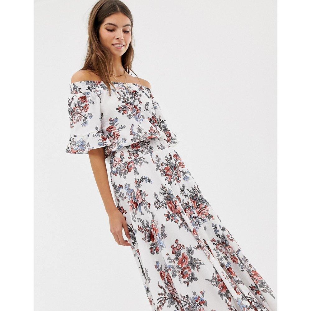Robe longue à fleurs - Glamorous - Modalova
