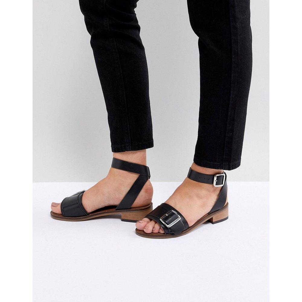 Sandales plates en cuir - H by Hudson - Modalova