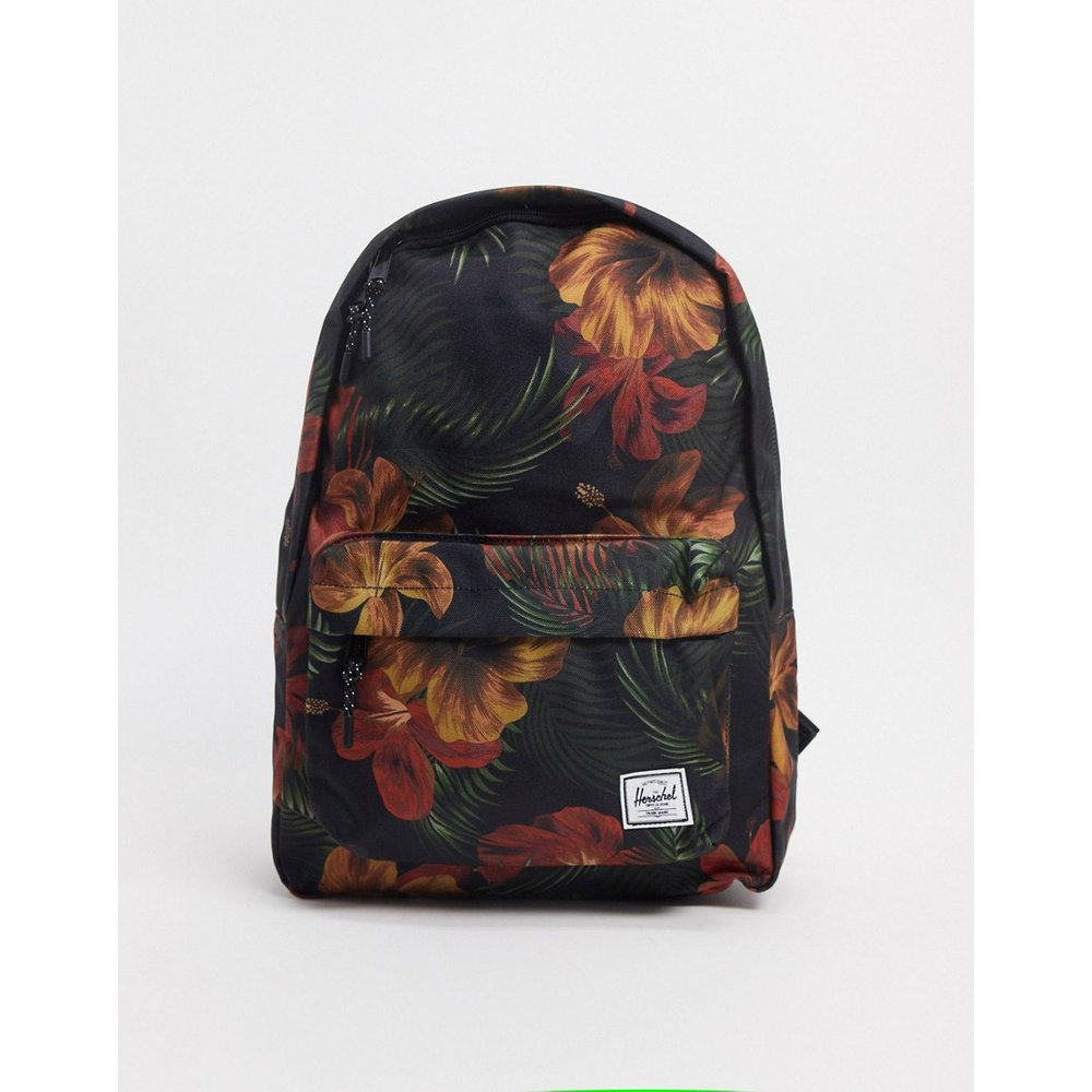Sac à dos classique avec motif fleurs tropicales - Herschel Supply Co - Modalova