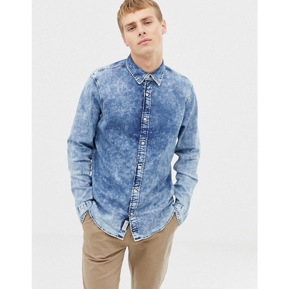 Chemise en jean délavée - Hollister - Modalova
