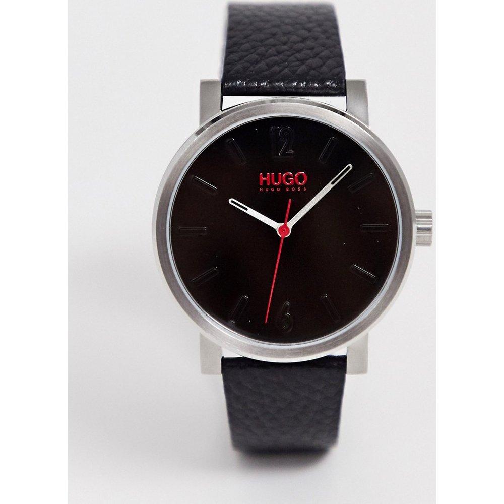 Rase - Montre-bracelet en cuir 42mm - HUGO - Modalova