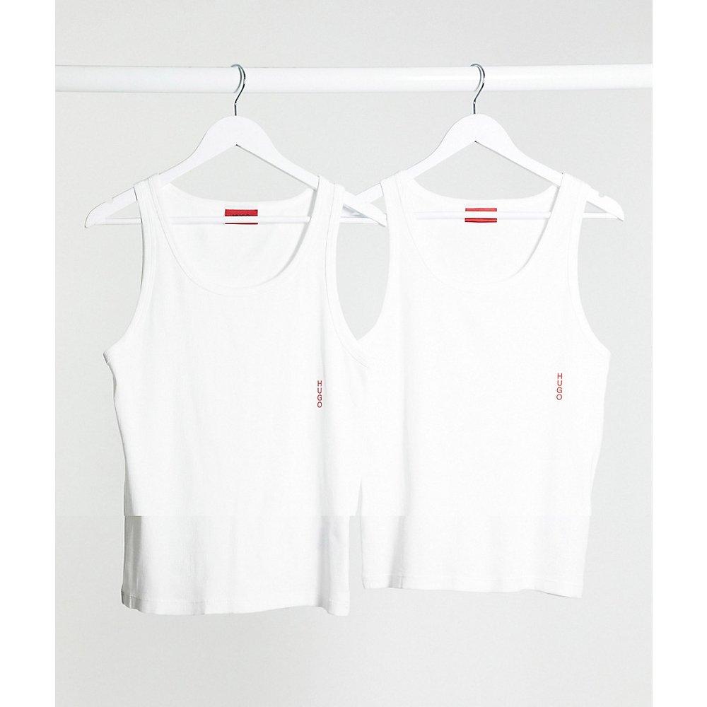 Bodywear - Lot de 2 débardeurs avec logo - HUGO - Modalova