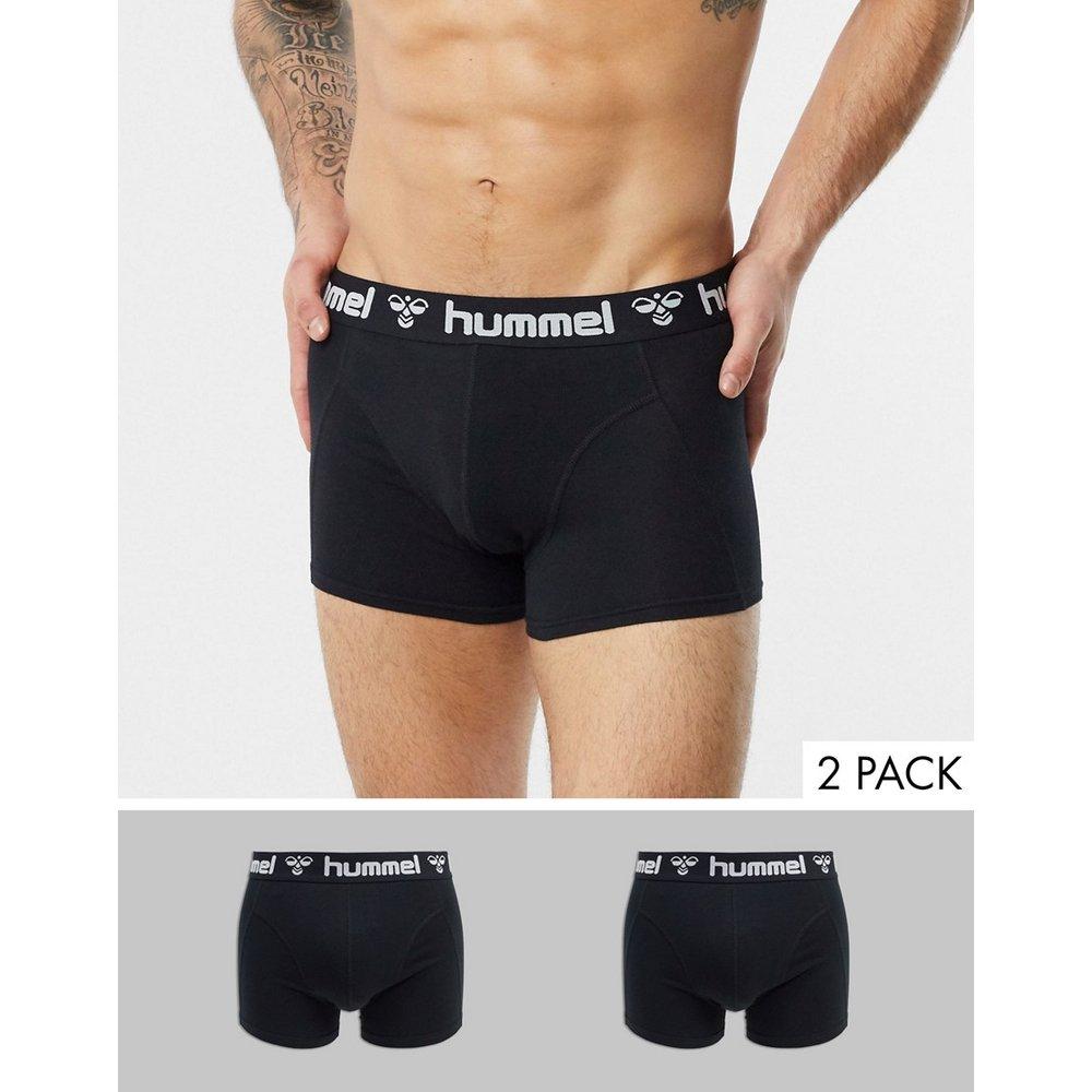 Hummel - Lot de 2 boxers-Noir - Hummel - Modalova