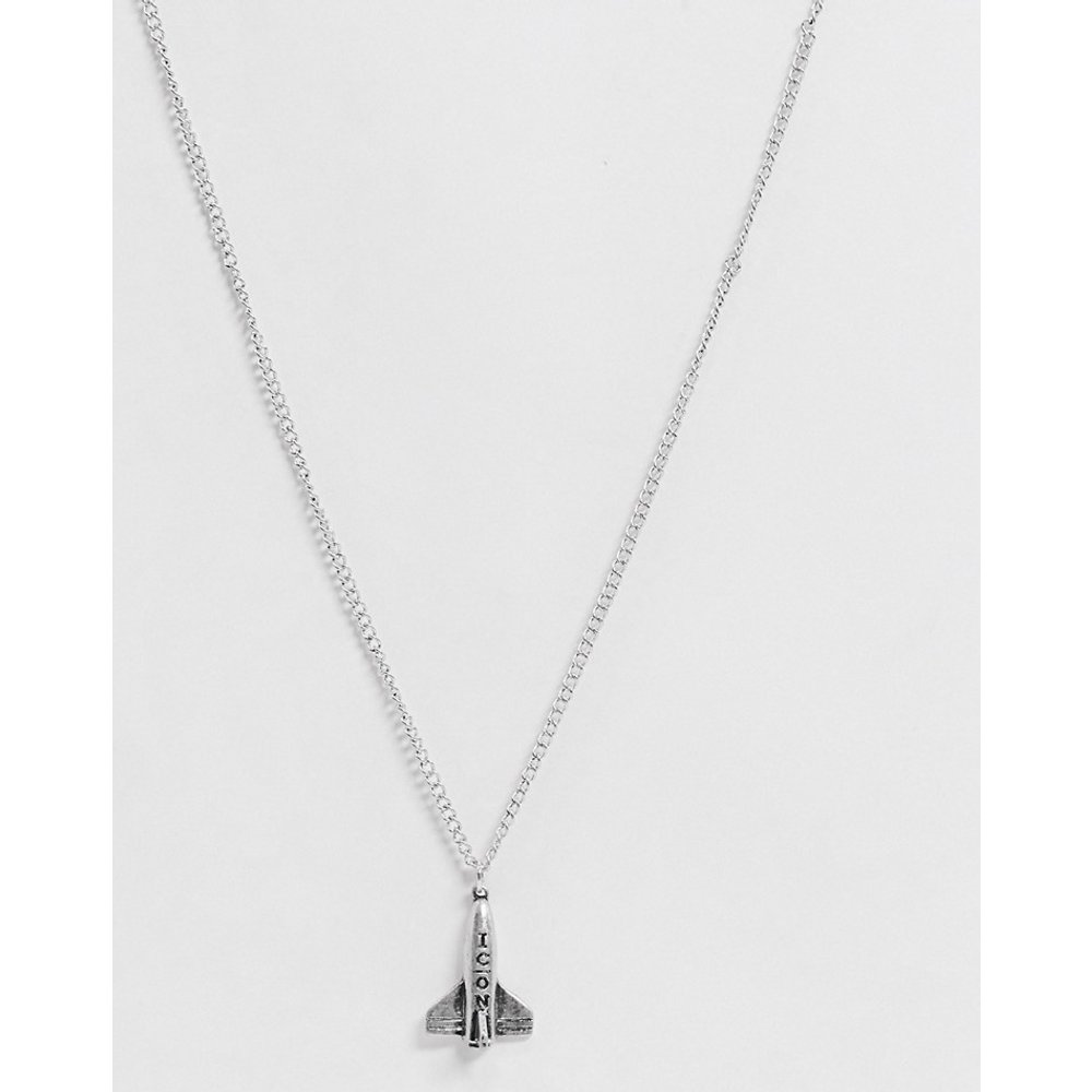 Collier chaîne à pendentif fusée - Icon Brand - Modalova