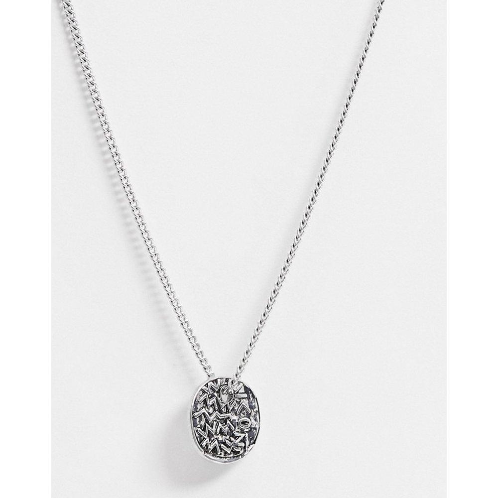 Collier chaîne avec pendentif à symboles - Icon Brand - Modalova