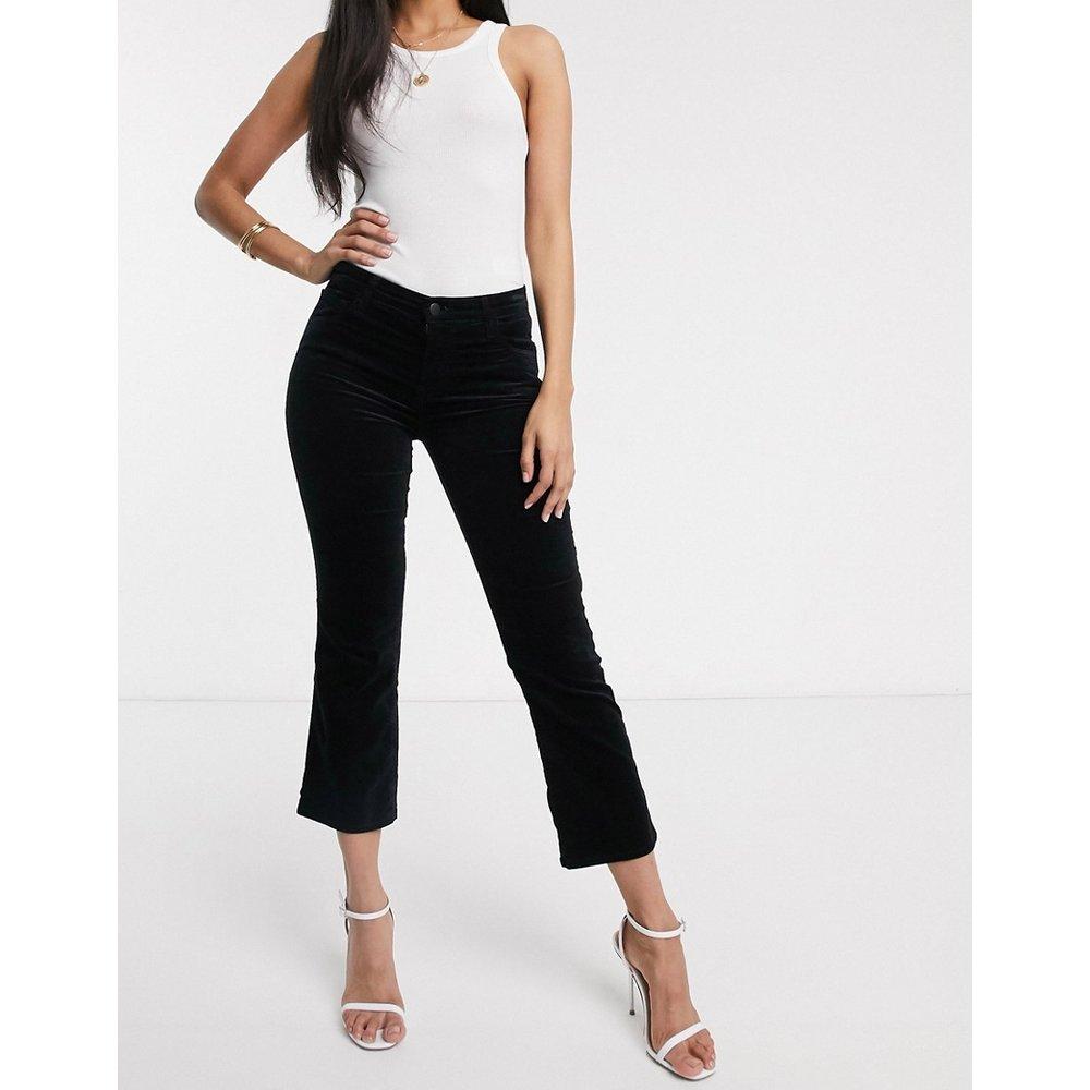 Selena - Jean bootcut court taille mi-haute - J Brand - Modalova