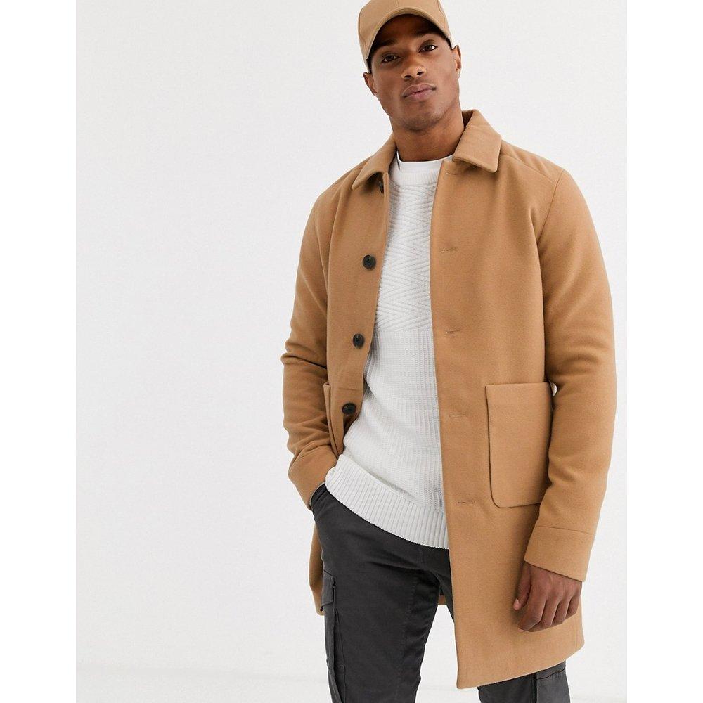 Originals - Manteau avec poche plaquée - Fauve - jack & jones - Modalova