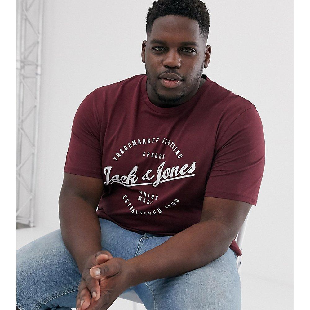 Originals Plus - T-shirt à logo rond - jack & jones - Modalova