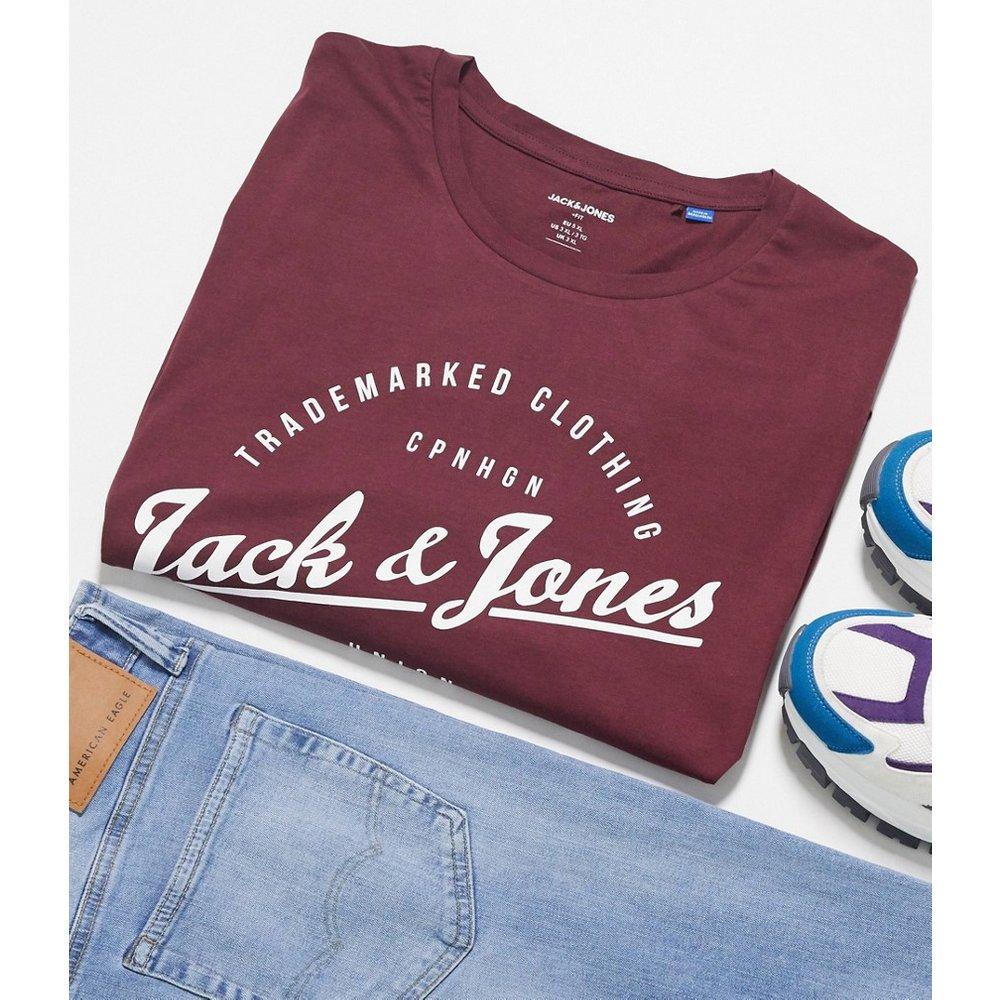 Originals - T-shirt à logo rond - jack & jones - Modalova