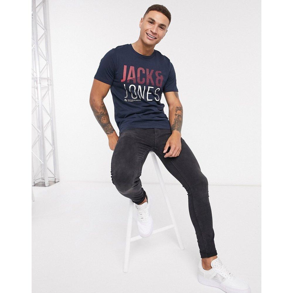 T-shirt à imprimé pixels - jack & jones - Modalova