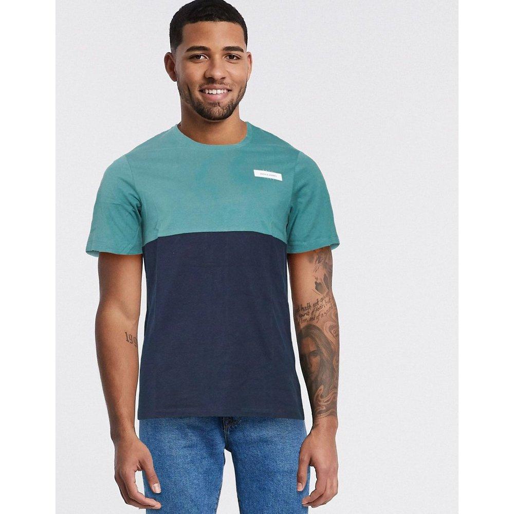 T-shirt color block - jack & jones - Modalova