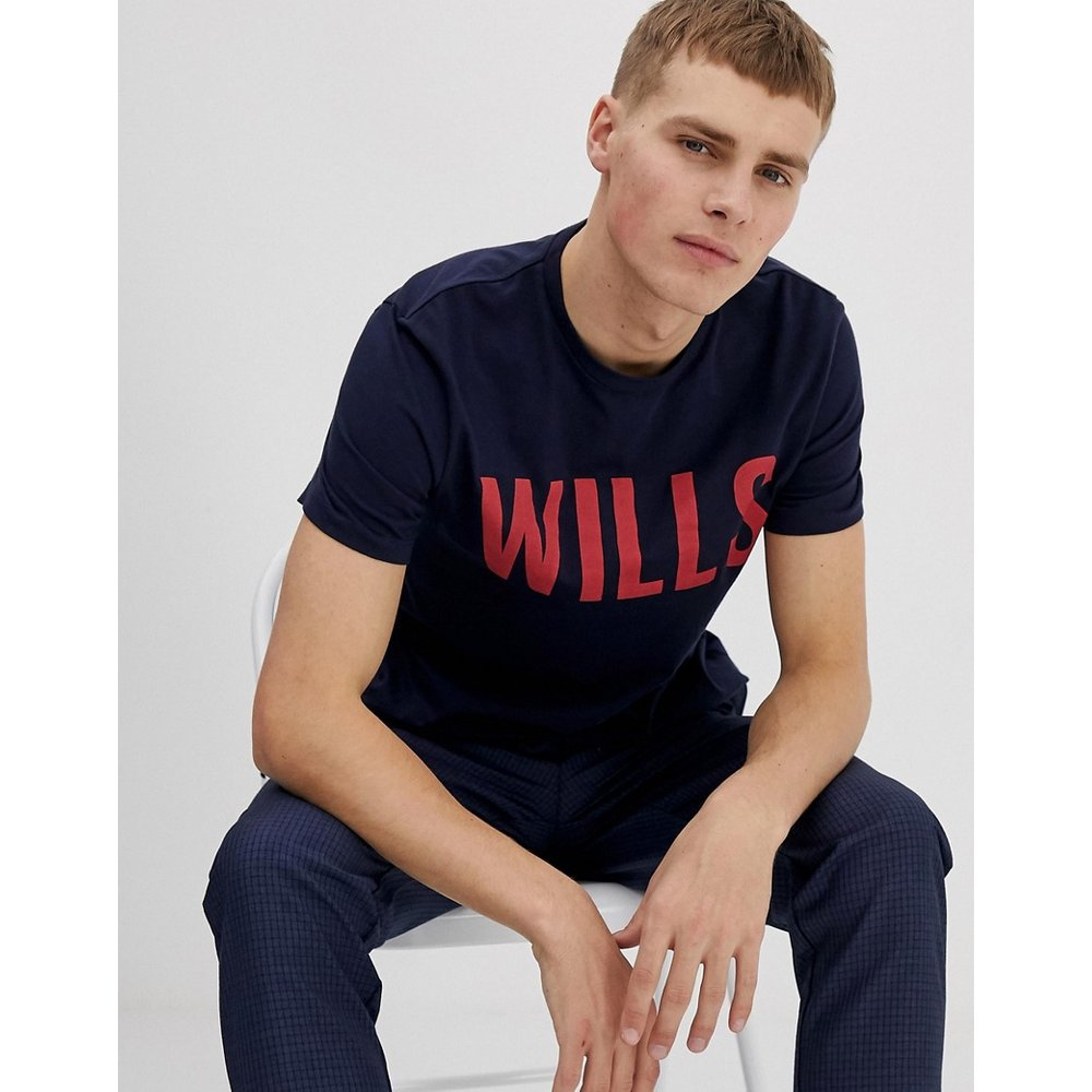 Wentworth Wills - T-shirt graphique - Bleu marine - Jack Wills - Modalova