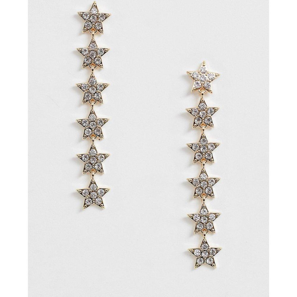 Pendants d'oreilles avec étoiles et pierreries - Johnny Loves Rosie - Modalova