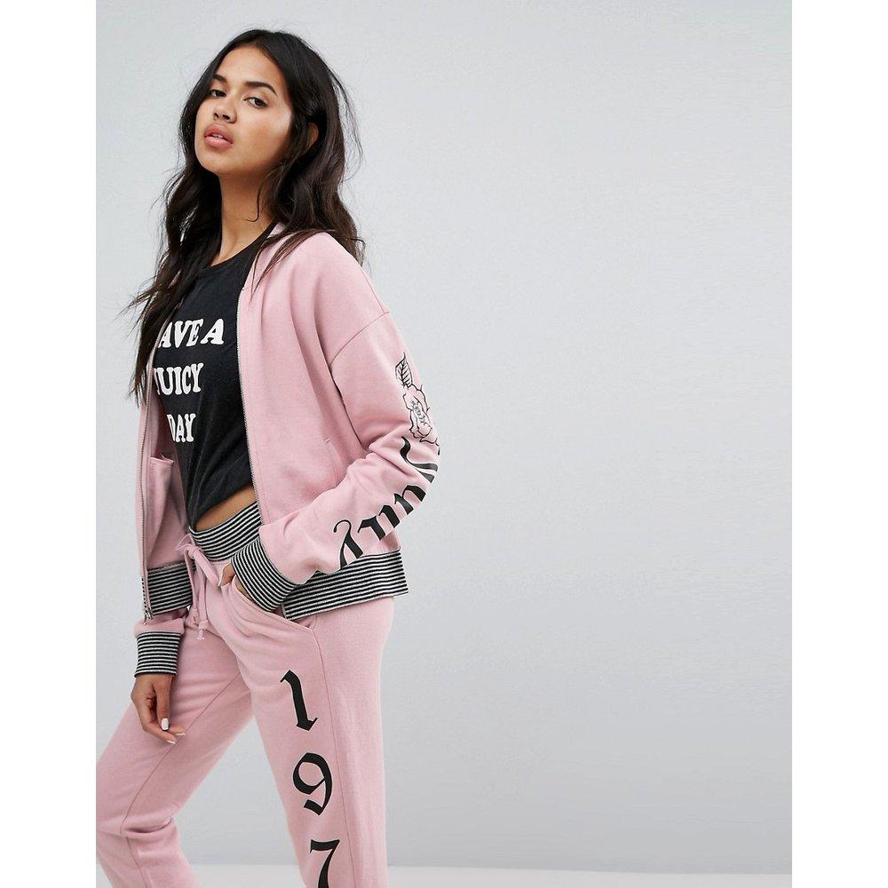 Juicy By - Veste avec logo gothique - Juicy Couture - Modalova