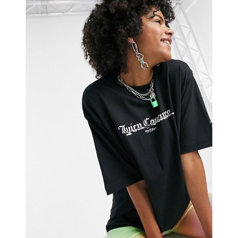 T-shirt à logo imprimé dans le dos - Juicy Couture - Modalova