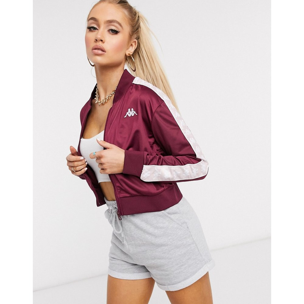 Veste courte zippée avec bandes contrastantes - Kappa - Modalova