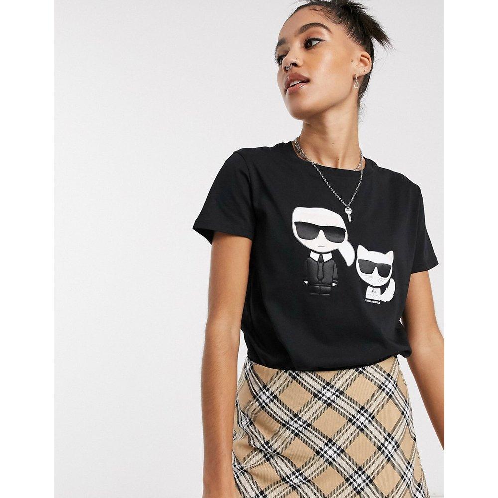 Iconik karl & choupette - T-shirt - Karl Lagerfeld - Modalova