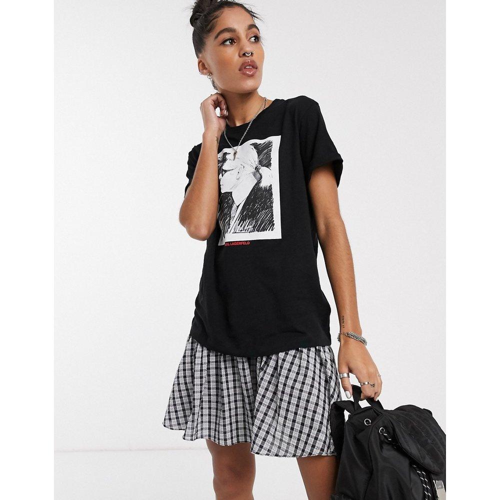 Karl Legend - T-shirt motif profil - Karl Lagerfeld - Modalova