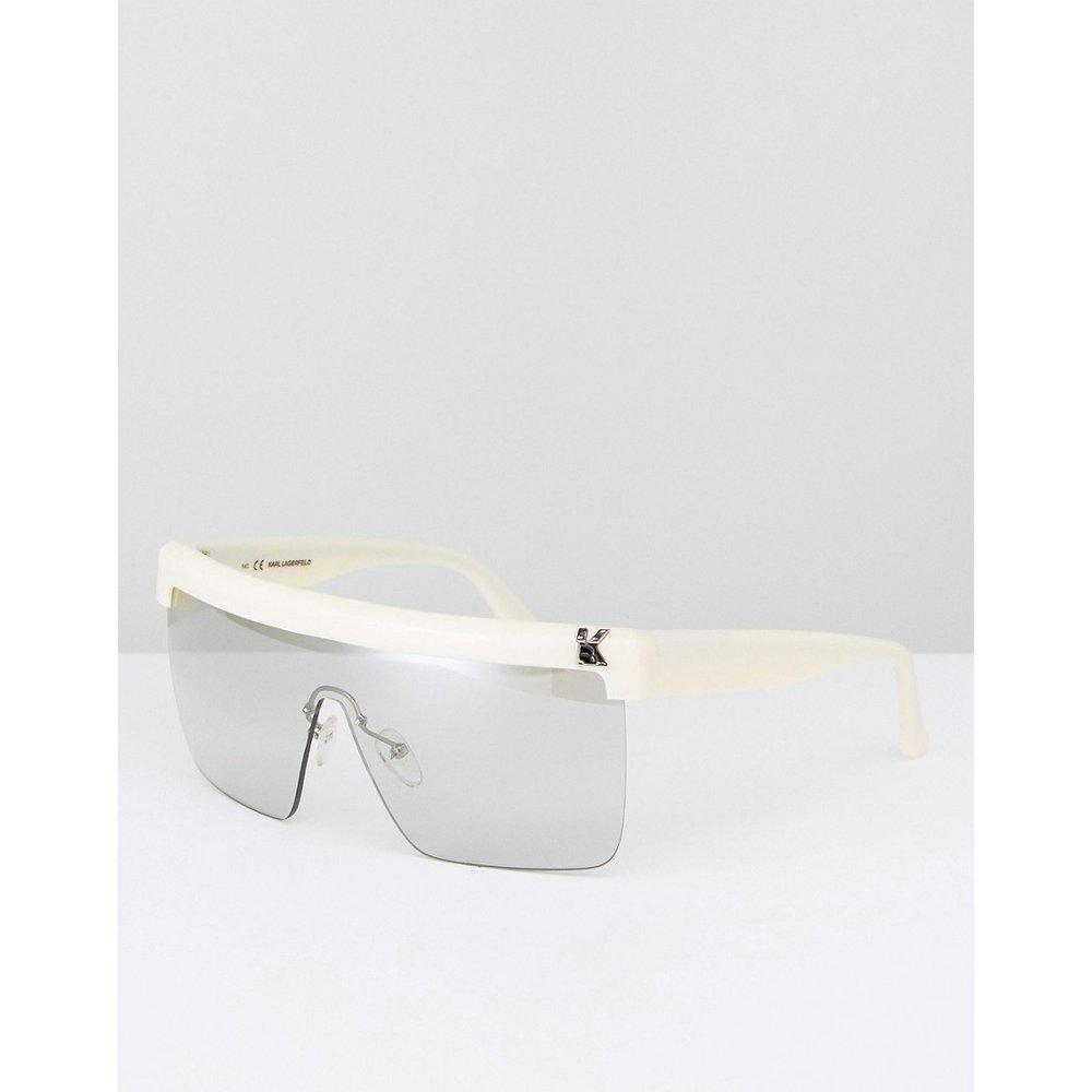 Lunettes de soleil masque - Karl Lagerfeld - Modalova