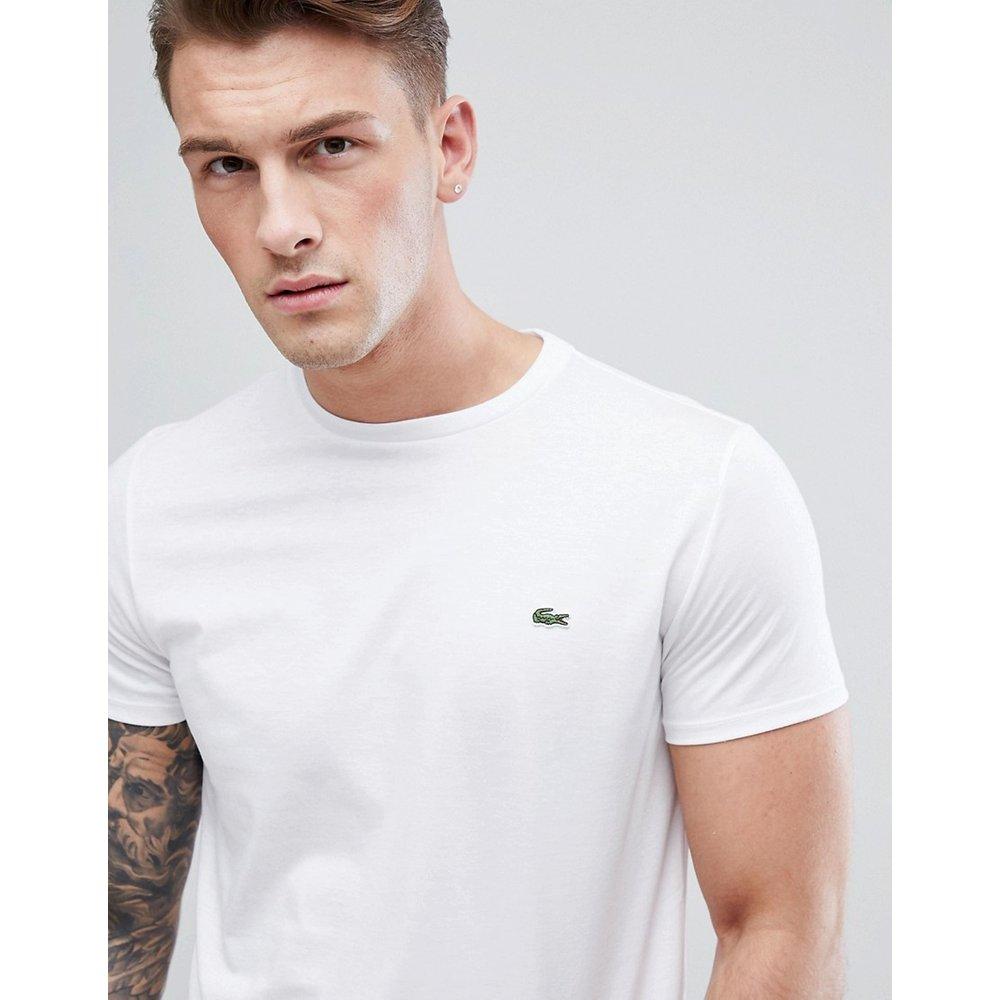 T-shirt à logo en coton pima - Lacoste - Modalova