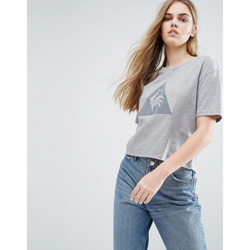 T-shirt court avec grand logo - Le Coq Sportif - Modalova