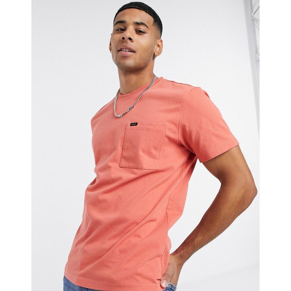 Lee - T-shirt à poche-Rouge - Lee - Modalova