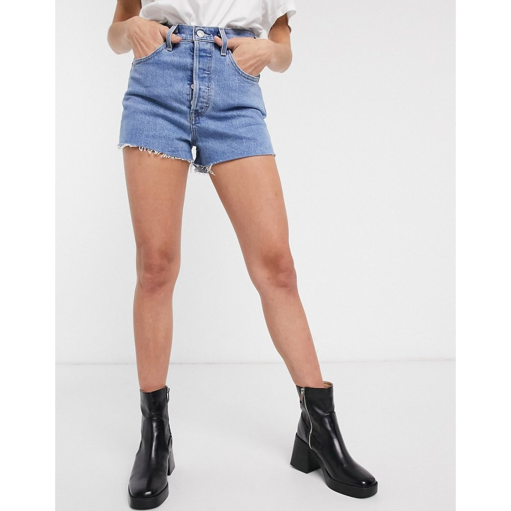 Ribcage - Short en jean à délavage moyen - Levi's - Modalova