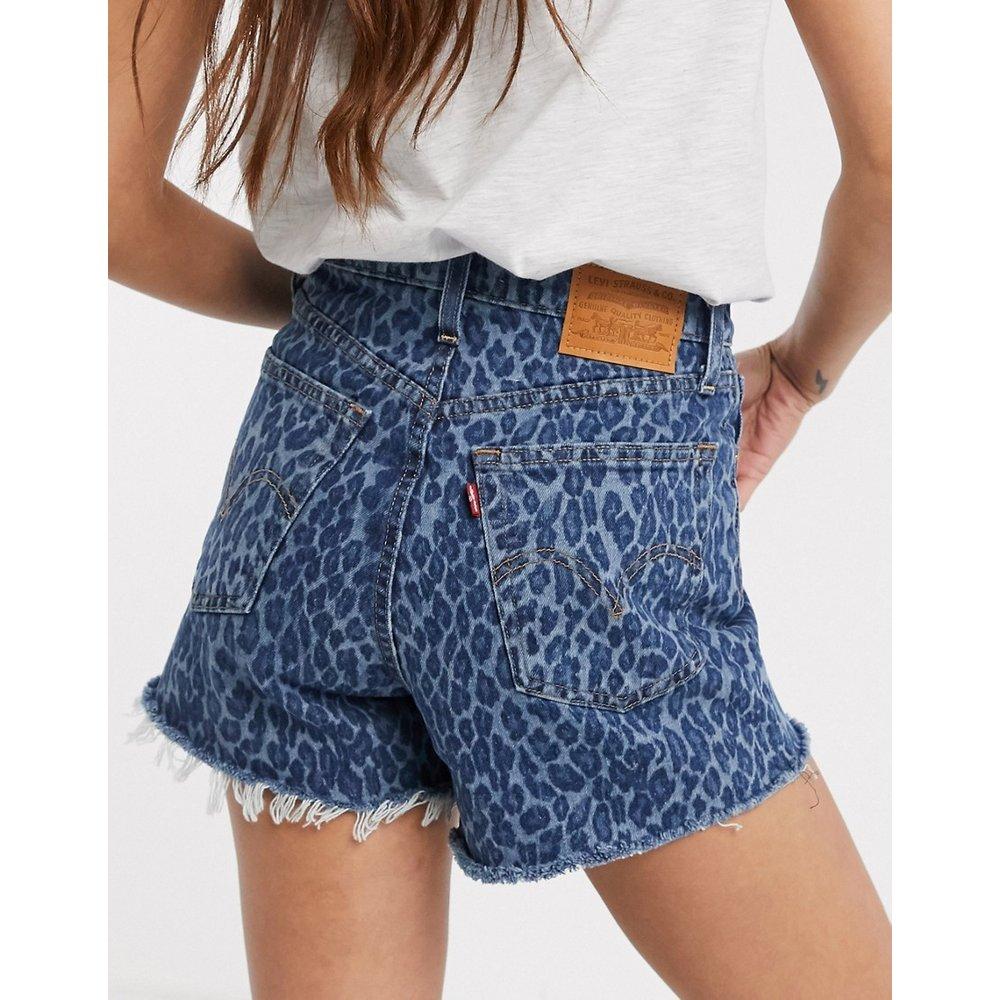 Ribcage - Short en jean à imprimé léopard - Levi's - Modalova