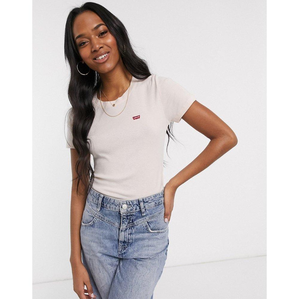 T-shirt finement côtelé - Rose pâle - Levi's - Modalova