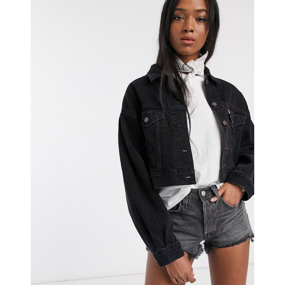 Veste en jean avec manches plissées - Levi's - Modalova