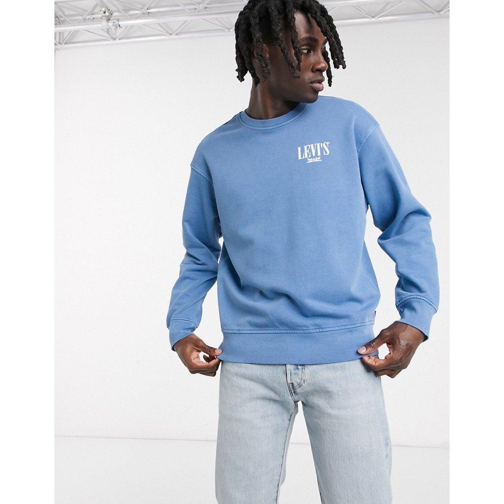 Youth - Sweat-shirt surteint coupe décontractée avec logo shérif - riverside - Levi's - Modalova