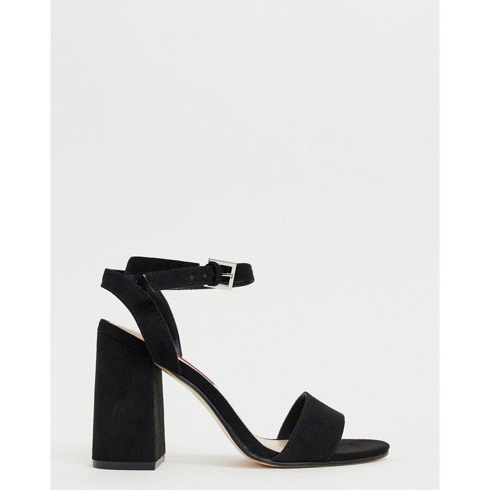 Sandales minimalistes à talons carrés - London Rebel - Modalova
