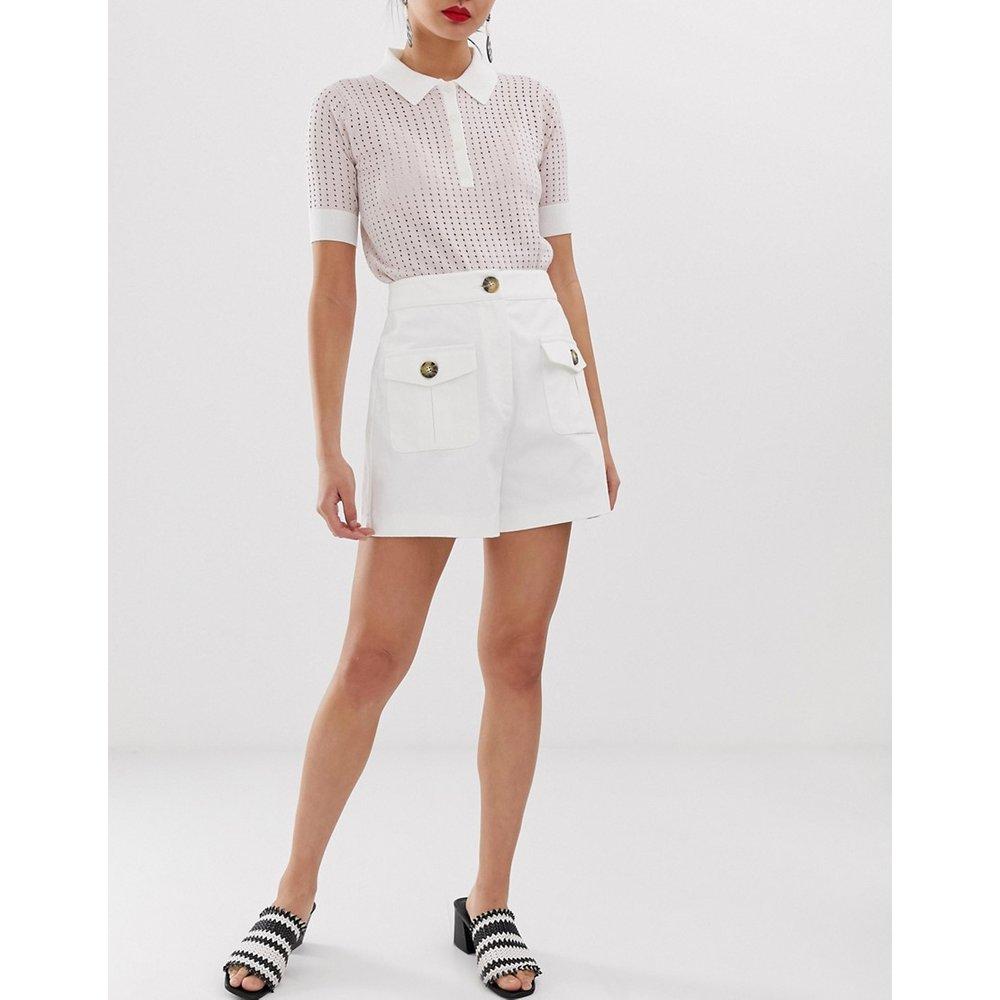 Short habillé taille haute - Lost Ink - Modalova