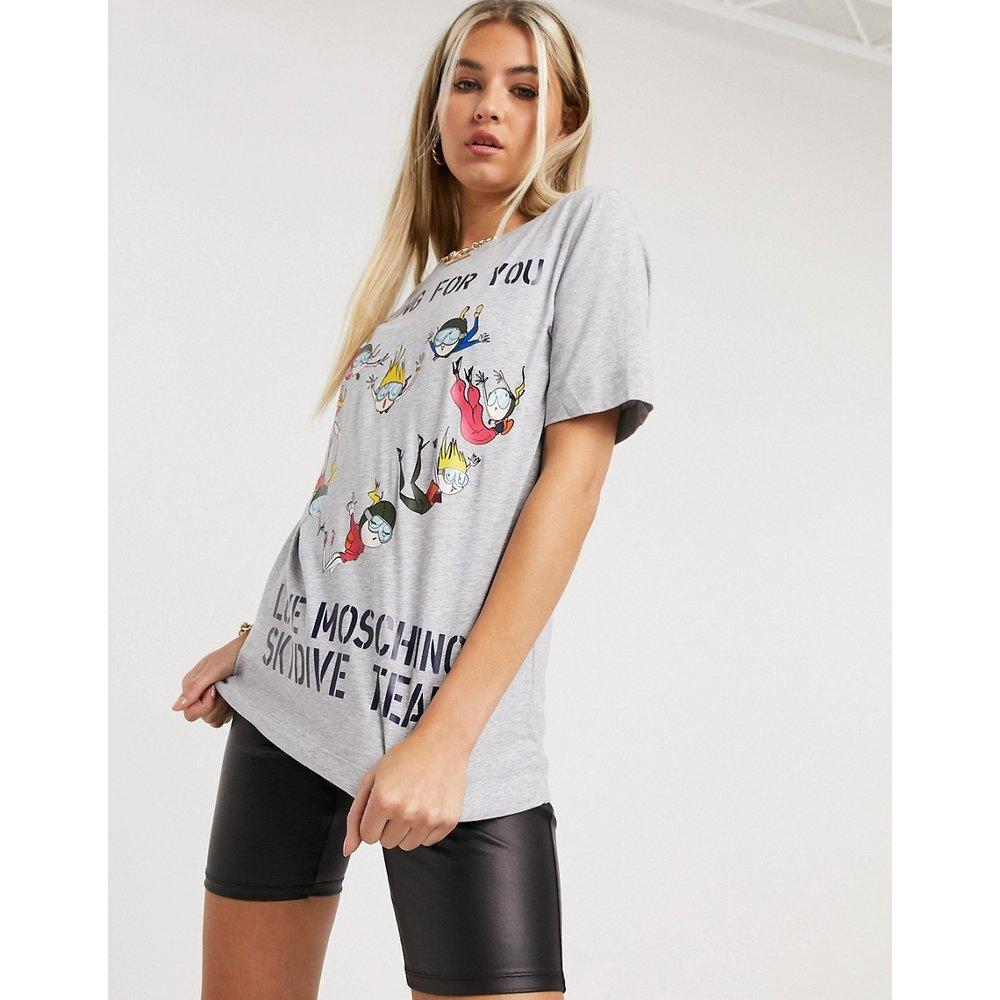 Falling For You - T-shirt - Love Moschino - Modalova