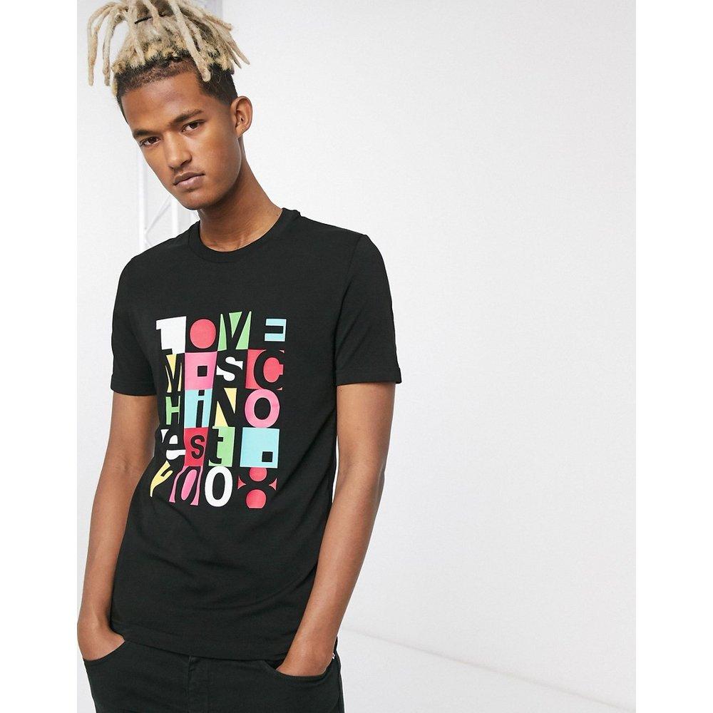 Letter Quad - T-shirt - Love Moschino - Modalova