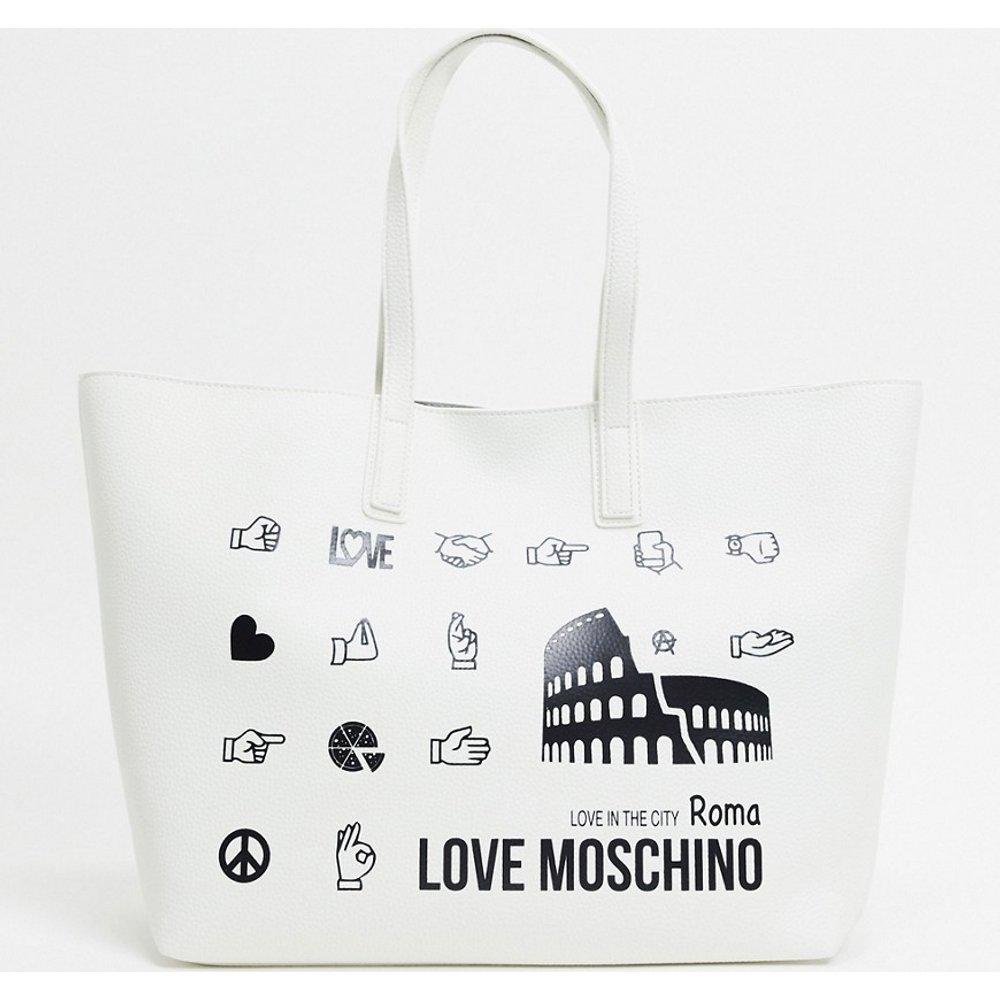 Roma - Tote bag - Love Moschino - Modalova