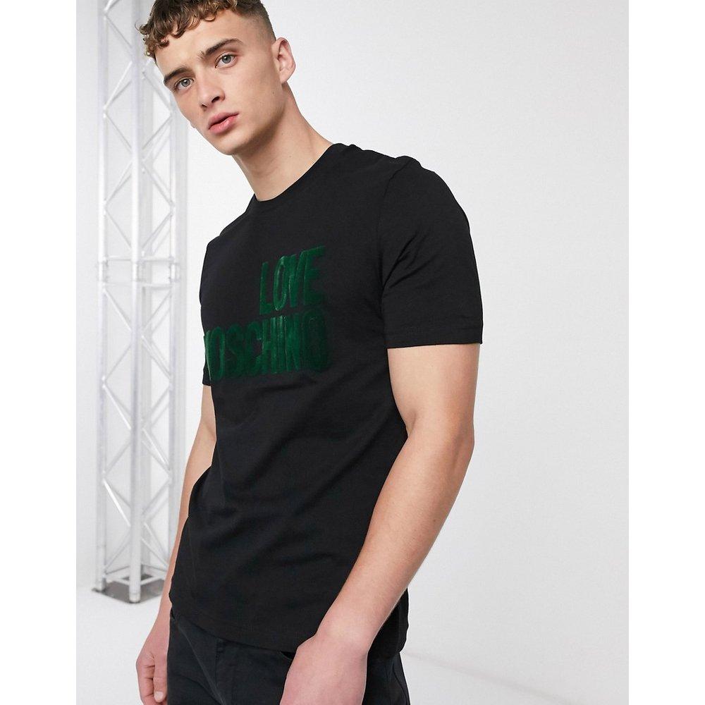 T-shirt à logo - Vert - Love Moschino - Modalova