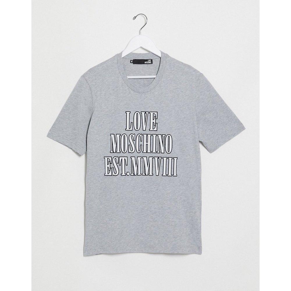 T-shirt à message - Love Moschino - Modalova