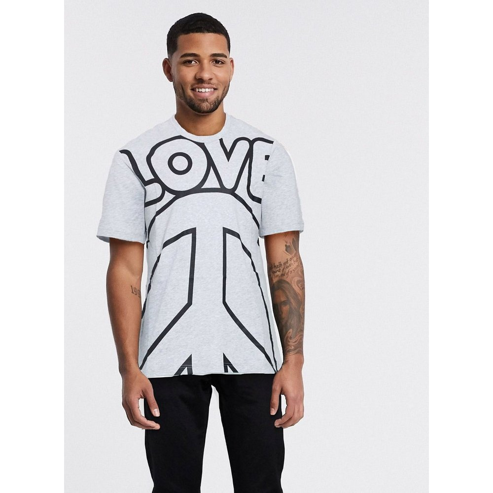 T-shirt avec logo Love - Love Moschino - Modalova