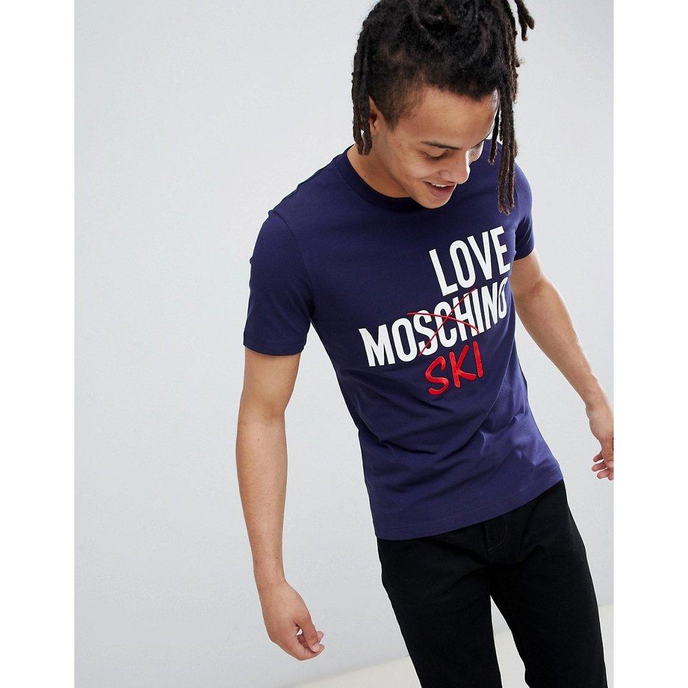T-shirt avec logo ski - Love Moschino - Modalova