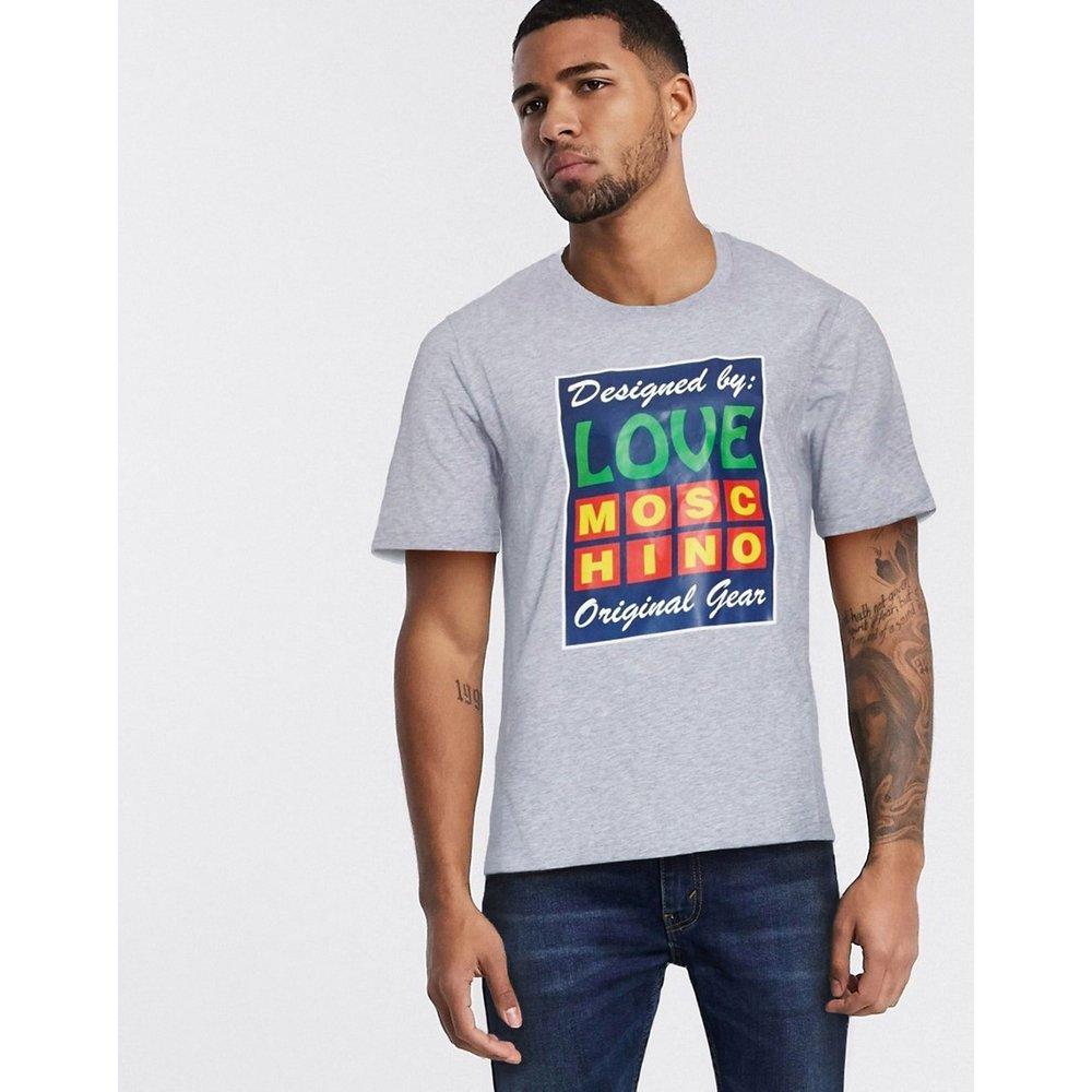 T-shirt graphique - Noir - Love Moschino - Modalova