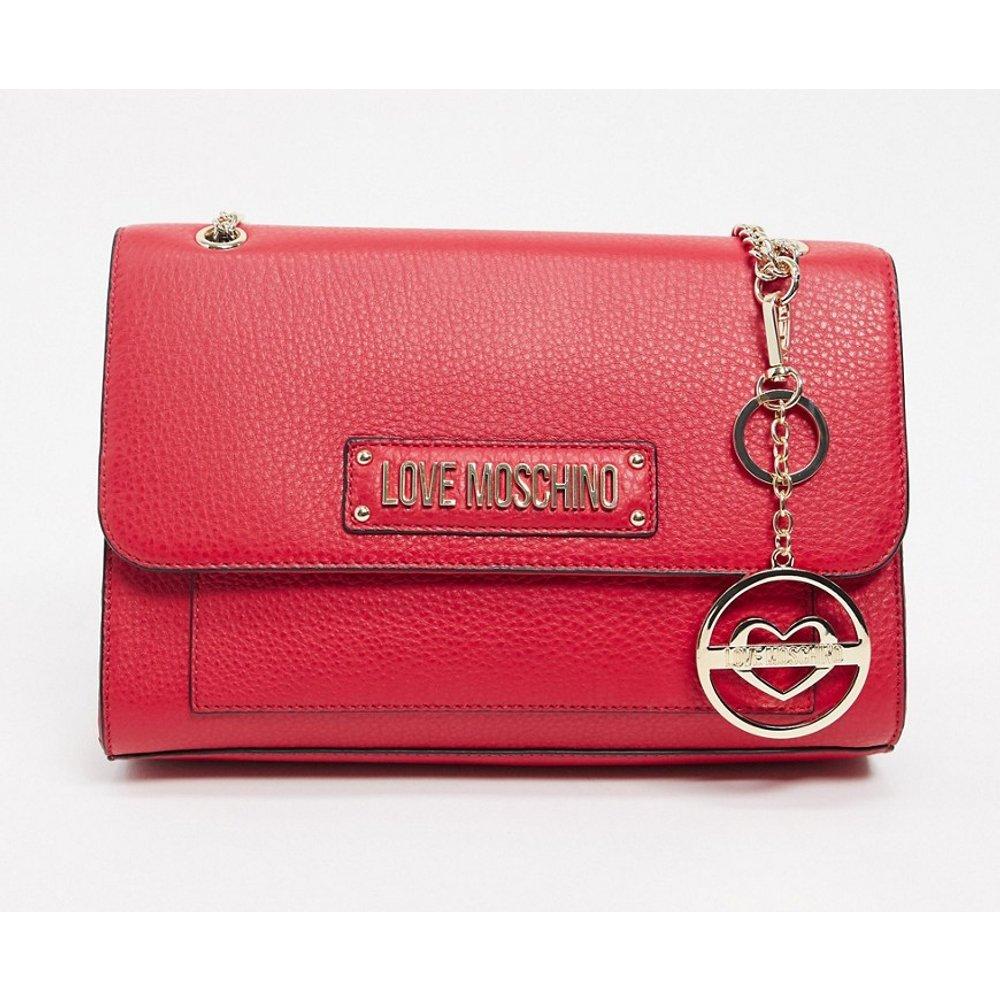 - Tote bag avec porte-clés - Love Moschino - Modalova