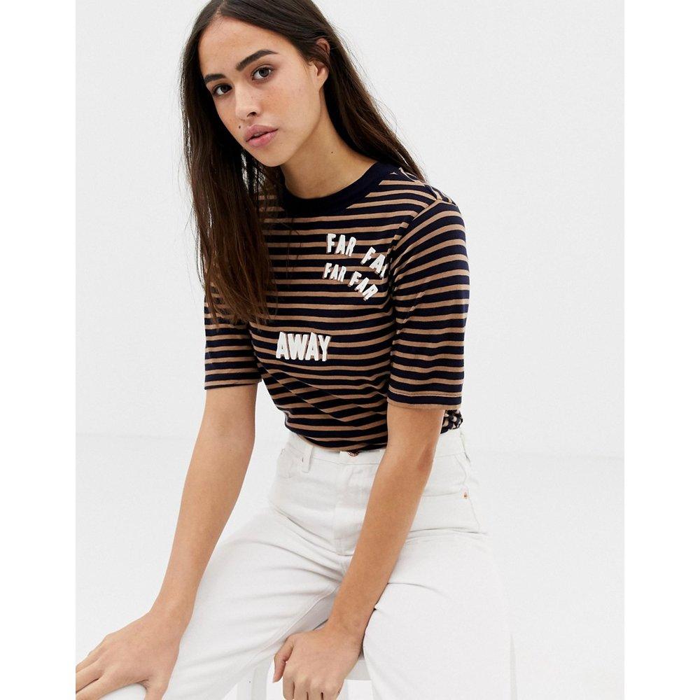 Far far Away - T-shirt rayé - Maison Scotch - Modalova