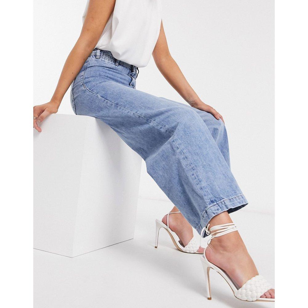 Jean large coupe courte - Mango - Modalova