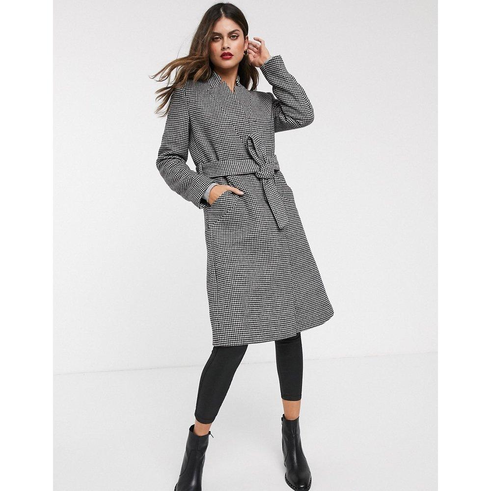 Manteau noué à la taille - Mango - Modalova