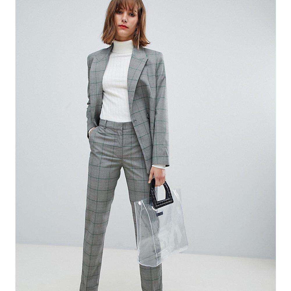 Pantalon à carreaux (ensemble) - Mango - Modalova